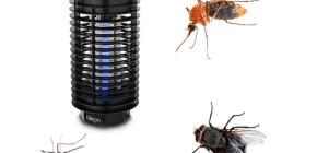 Lampu untuk pemusnahan serangga terbang