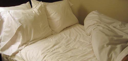 Linen kain dan cara untuk menyingkirkannya