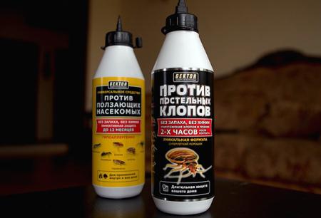 Hector insecticidal dari bug katil dan serangga lain